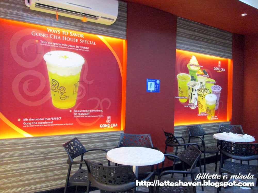 Gong Cha Milk Tea Philippines