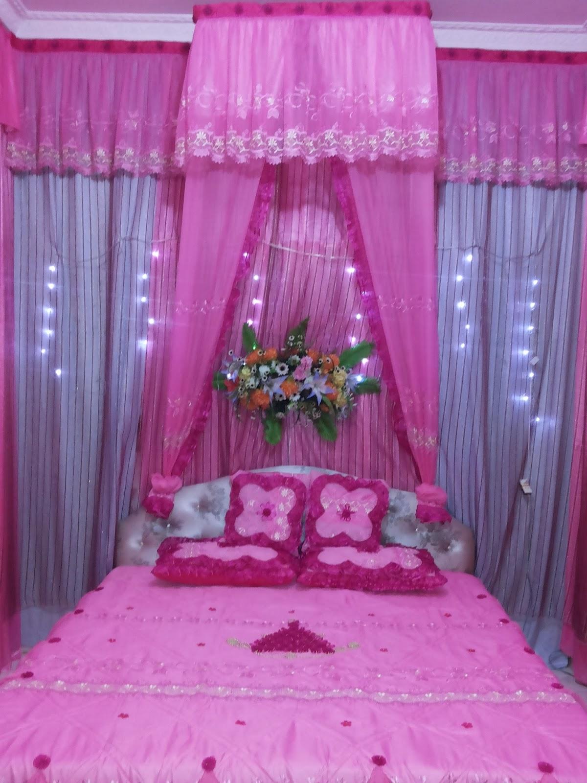zhafira wedding service (pelaminan palembang): dekorasi kamar pengantin