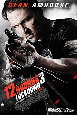 12 Rounds 3: Lockdown 2015 poster