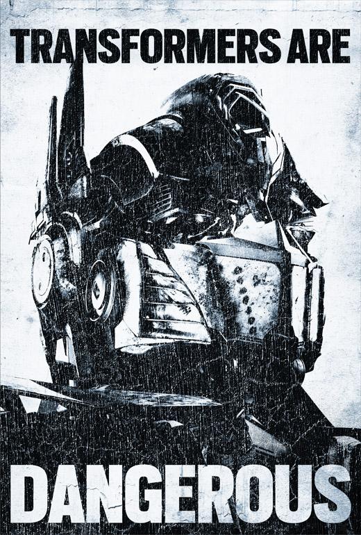 Poster Optimus Transformers: La Era de la Extinción