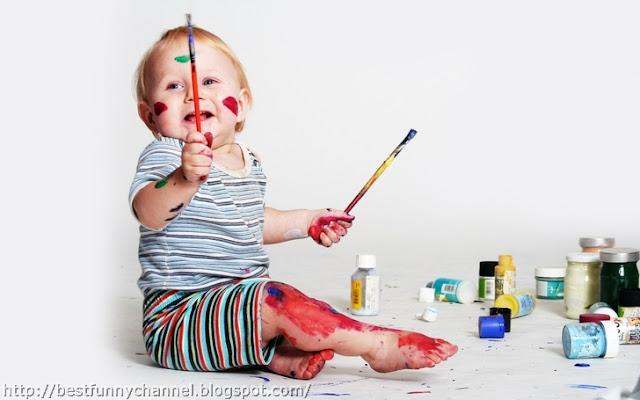 Baby Artist.