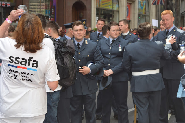 Armed forces SSAFA London Gay Pride 2015