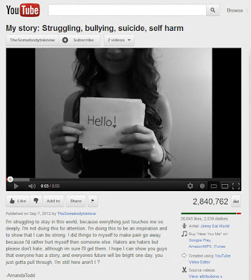 My story: Struggling, bullying, suicide, self harm