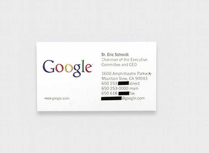 top 10 famous business cards  10 pics