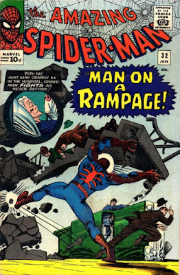 Amazing Spider-Man #32, Man on a rampage