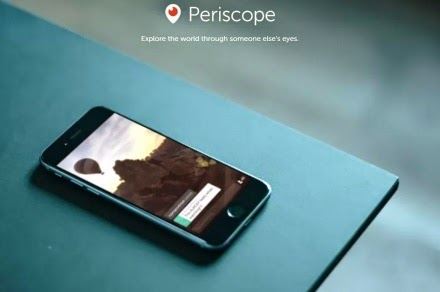 Periscope explore the world with someone else's eyes