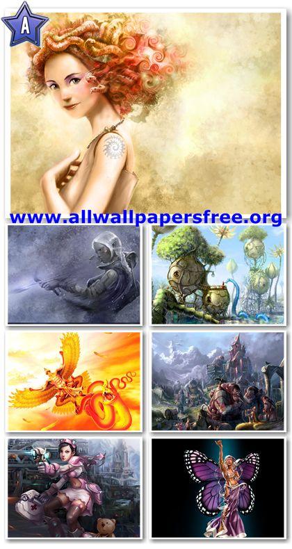 100 Amazing Fantasy Wallpapers 1280 X 1024 [Set 6]