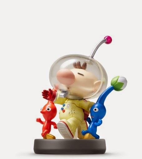 JUGUETES - NINTENDO Amiibo  44 : Figura Olimar : Pikmin   (Julio 2015) | Videojuegos | Muñeco | Super Smash Bros Collection  Plataforma: Wii U & Nintendo 3DS