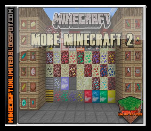 More Minecraft 2 Mod