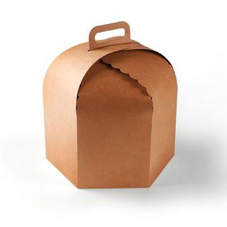 boîte pour gâteux, boîte en carton, boîte avec anse