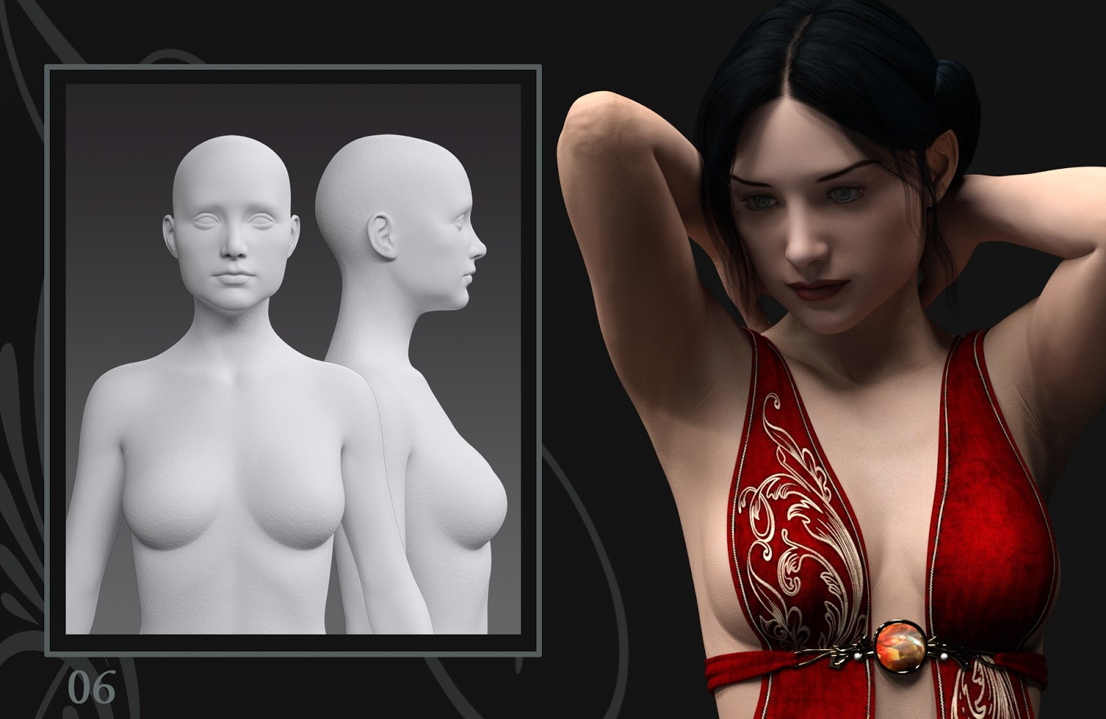 Daz 3d naked tube