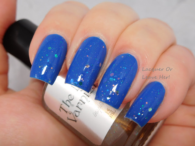 The Lady Varnishes Twink over Zoya Sia