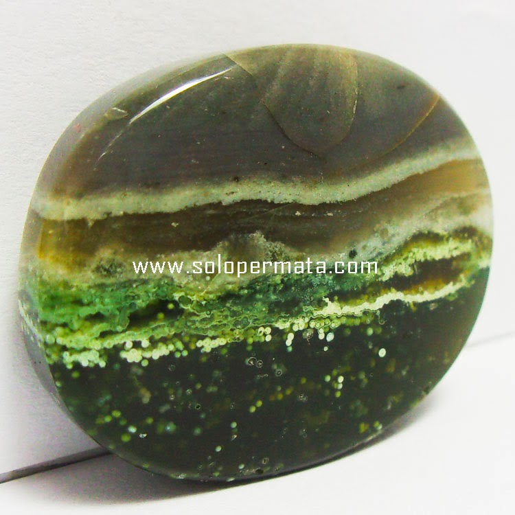 Batu Permata Akik Pacitan Pancawarna  - 03B07