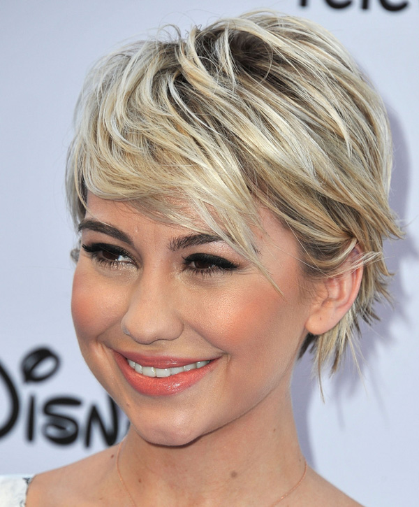 New Hairstyle Short : Chelsea Kane adapted a new pixie short hairstyle Fashion Styles