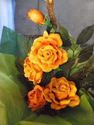 arranjo de flor eva