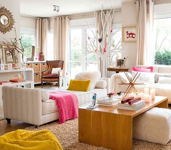 Entre barrancos decoraci n cuartos de estar - Decoracion cuarto de estar ...
