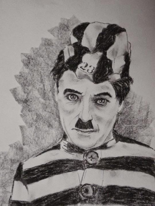 Charles Chaplin por Shu Taira
