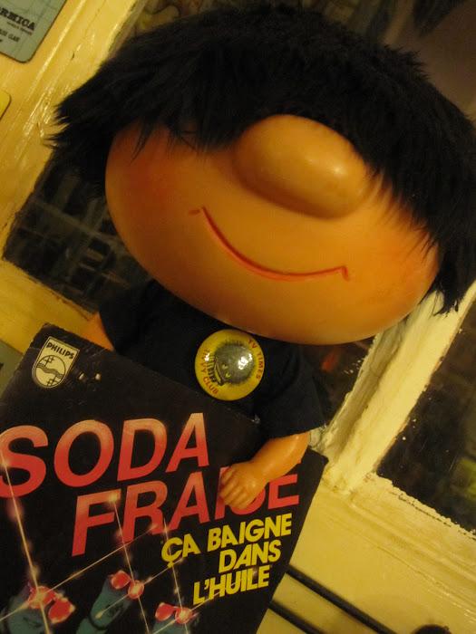 SODA FRAISE Ca baigne dans l'huile Philips records / 1980 / FR