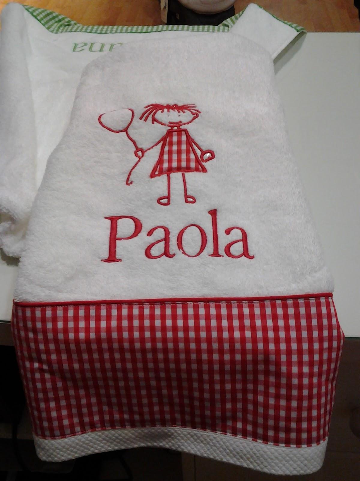 La luna de pablo toallas personalizadas - Toallas infantiles personalizadas ...