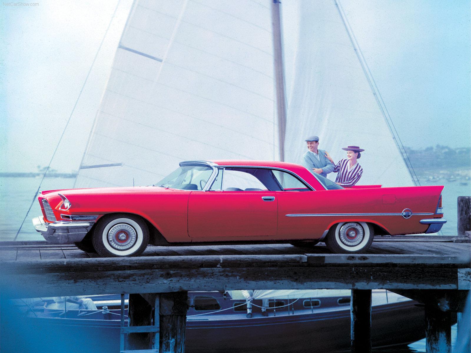 Hình ảnh xe ô tô Chrysler 300C 1957 & nội ngoại thất