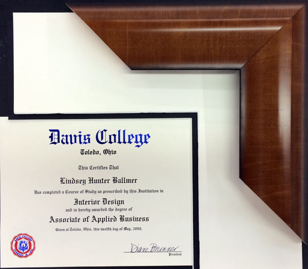 Picture Framing Blog A Good Frame Of Mind Diploma Framing