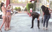 Blowing Girls Clothes Off Prank – Funny Video