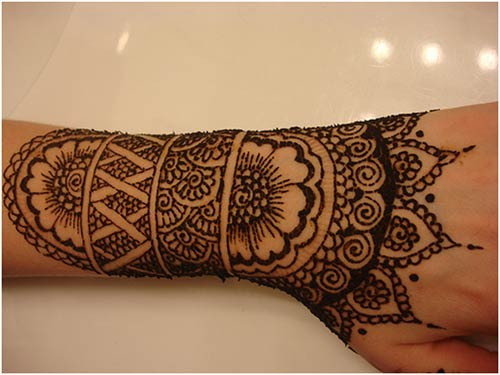 Mehndi For Thin Hands : Green breathtaking arabic mehndi designs