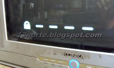 Candado en pantalla en Konka KP2108