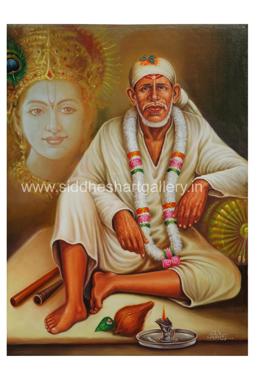 siddhesh art gallery sai baba paintings