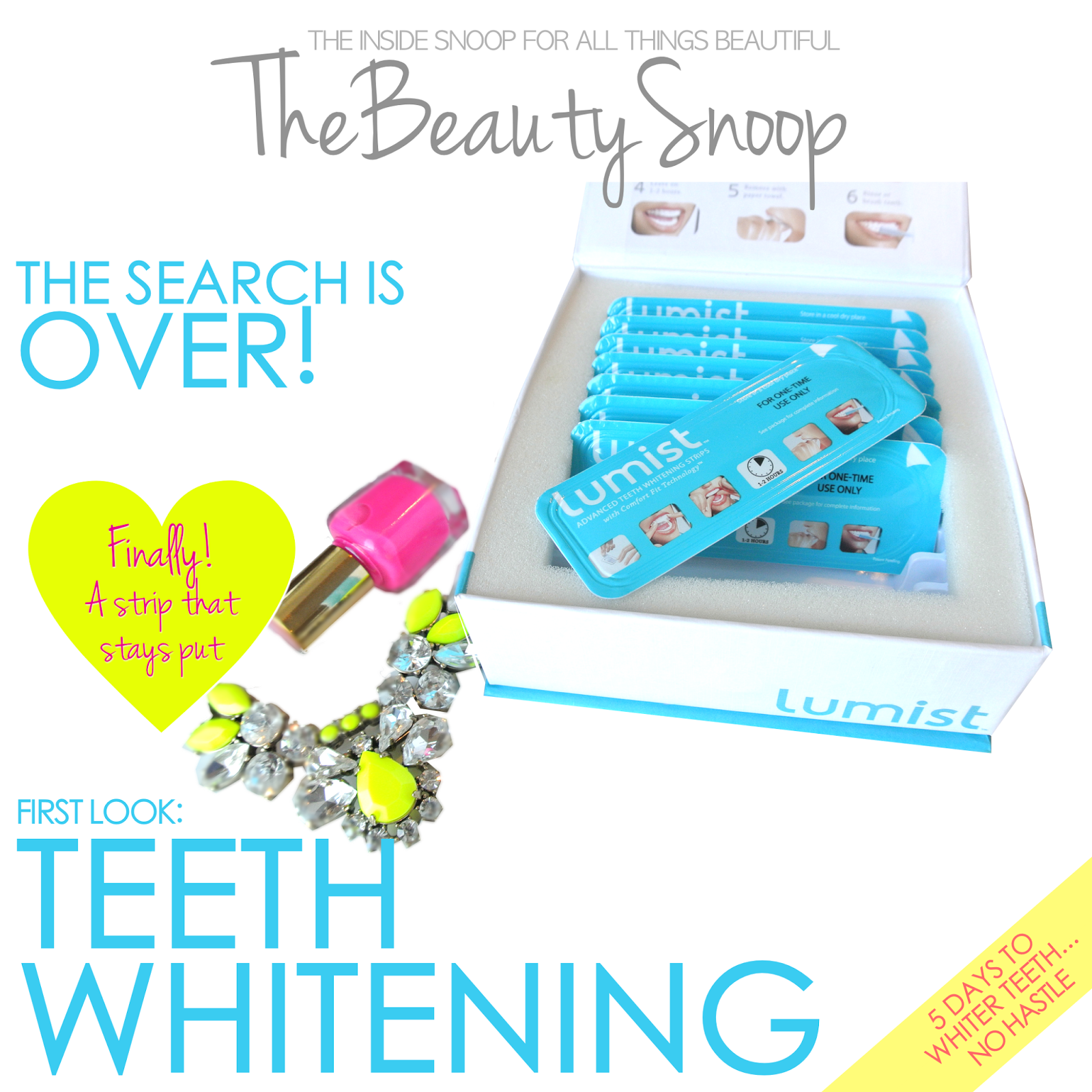the best teeth whitening strips, at-home teeth whitening, 5 day teeth whitening, lumist teeth strips