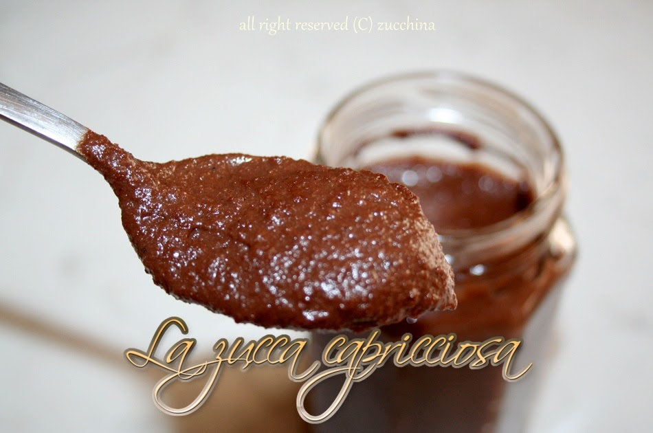 ... : Crema crunchy cacao, mandorle e..... la simil nutella homemade