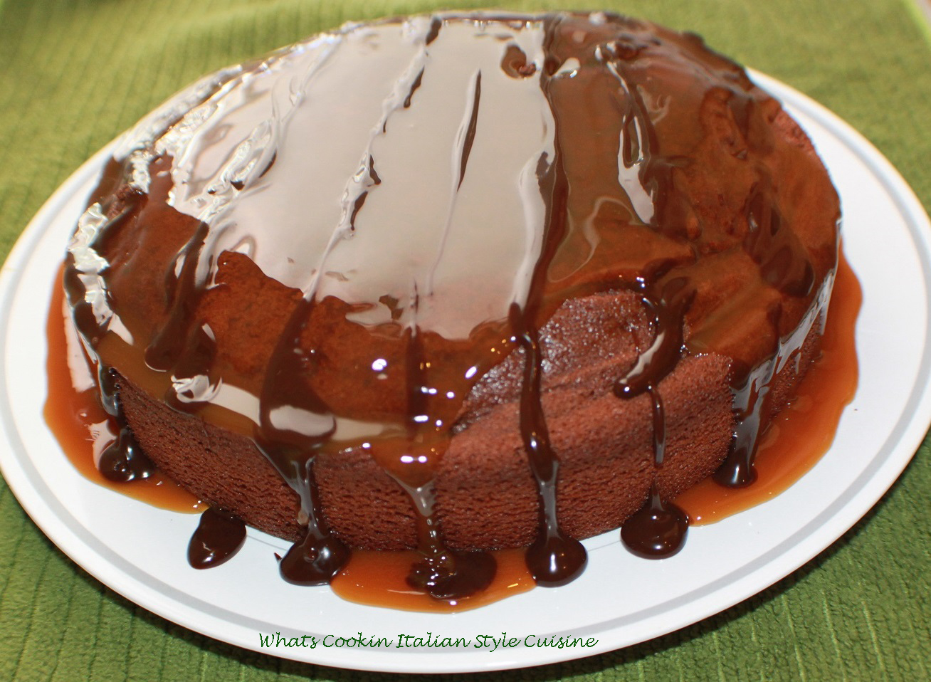 What's Cookin' Italian Style Cuisine: Sour Milk Chocolate Cake Recipe