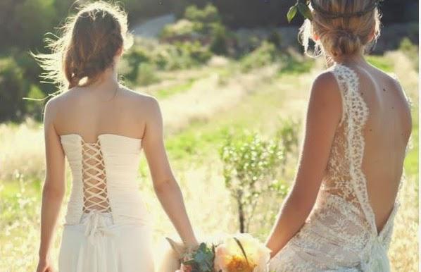 robes de mariée dos nu en dentelle de style boheme