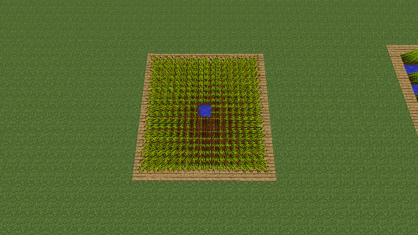 minecraft wheat farm efficient image search results