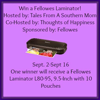 Fellowes Laminator Giveaway