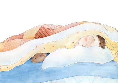 """il·lustració infantil children illustration """"Quan érem nens"""""""