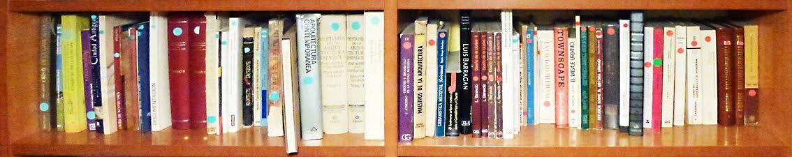 Arquitectura, libros y cosas