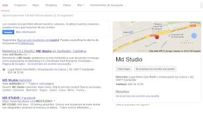 Posicionamiento Web MD Studio