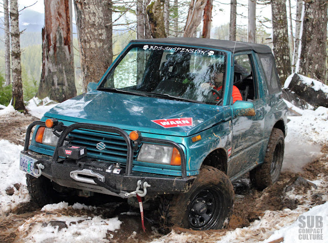 My Suzuki Sidekick in Tillamook State Forest