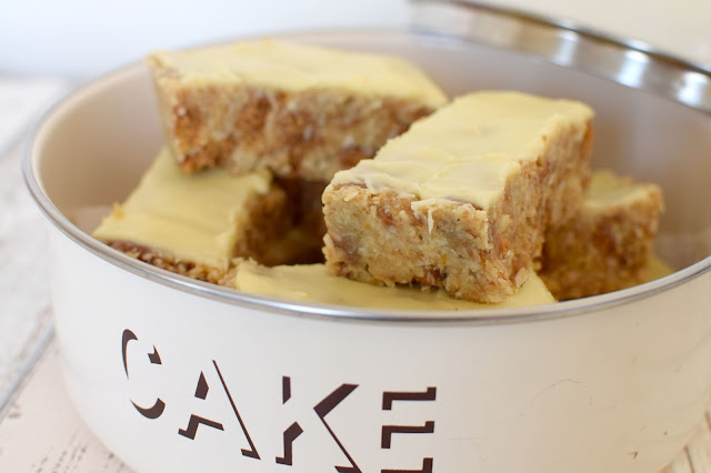 Orange Coconut Slice Recipe