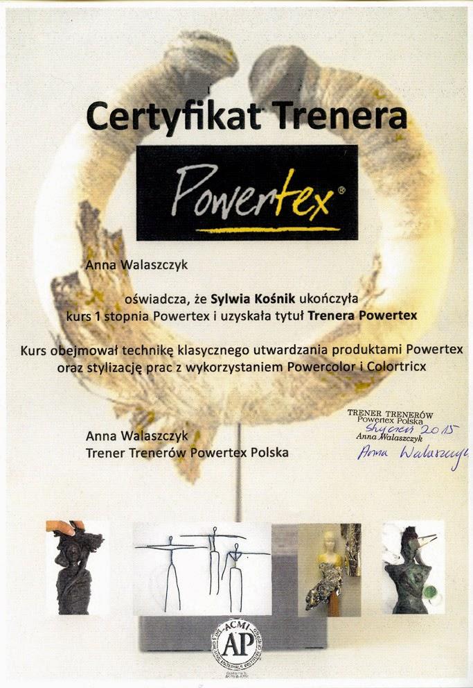 Certyfikat Powertex I stopień