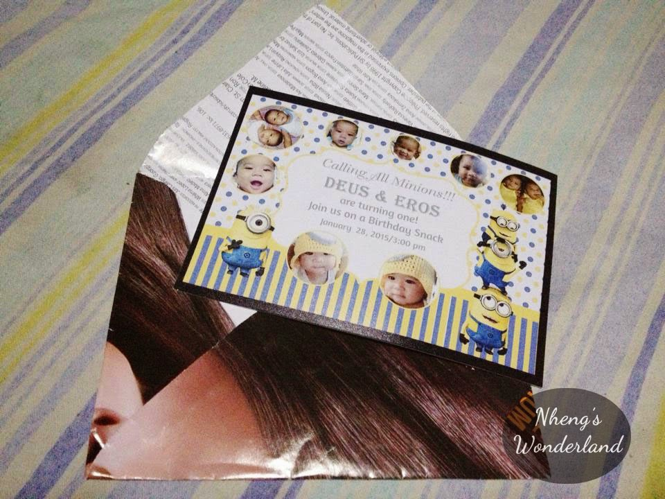 DIY Magazine Envelope