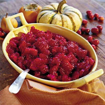 Double Cranberry Apple Sauce