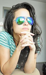 Las gafas de sol ocultan la mirada y las emociones que ésta pueda mostrar