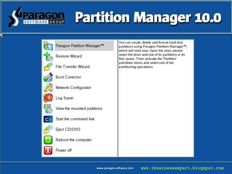 Paragon partition manager personal - скачать бесплатно.