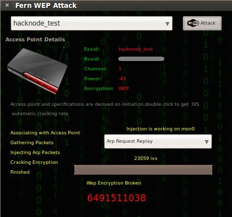 How To Hack A Wifi Using Fern WiFi Cracker.