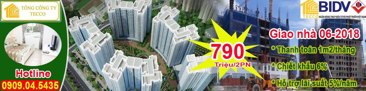 CĂN HỘ TECCO TOWN BÌNH TÂN - 790TR/2PN - CK 5% GIÁ TRỊ CĂN HỘ