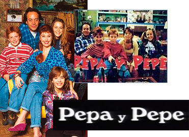 Reparto de la serie de TVE 'Pepa y Pepe'