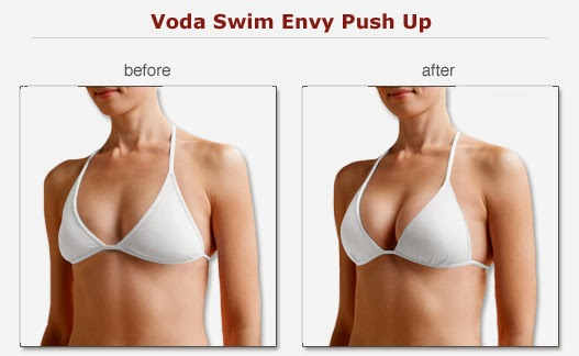 Push up bra before and after