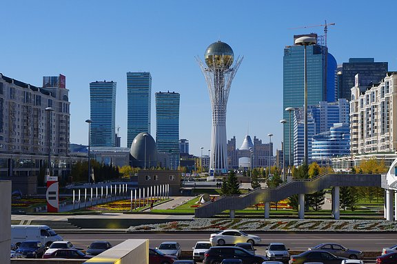 Kazakistanda ucuz Otel Restaurant